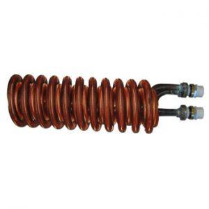 finned copper heat exchanger