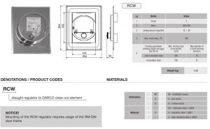 darco RCW specification