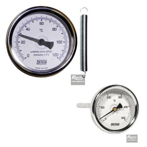 heating system thermometers