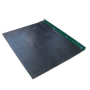 acoustic mat for pellet silo