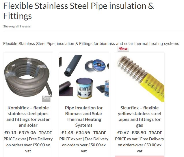 Flexible heating pipe