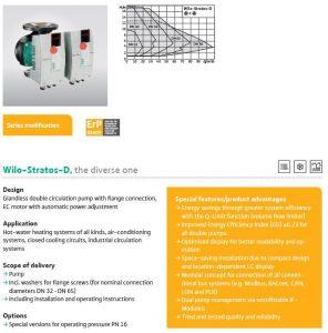 wilo stratos D heating pump