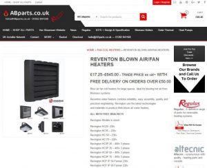 reventon blow air heaters
