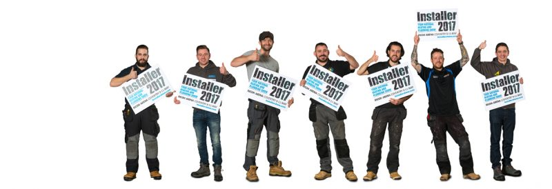 regulus at installer 2017