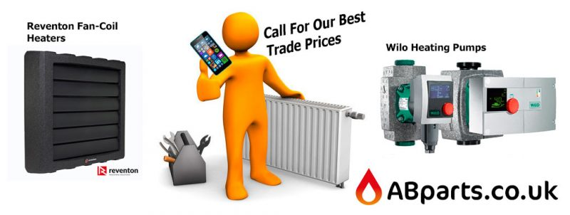 reventon heaters and wilo pumps trade supplies