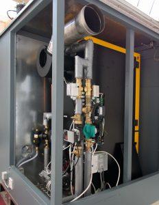 biomass boiler room