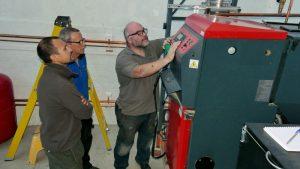 biomass boiler servicing
