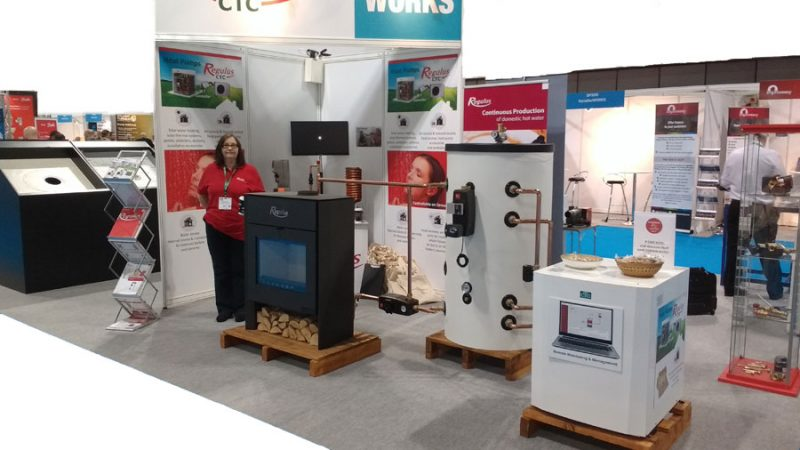 ctc reregulus heat pumps on show