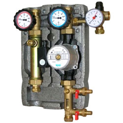 pump stations for heating systems