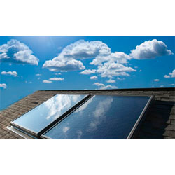 solar thermal panels and parts to the trade