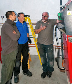 heating installer training
