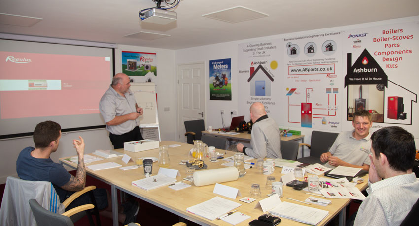CTC REGULUS heat pump training
