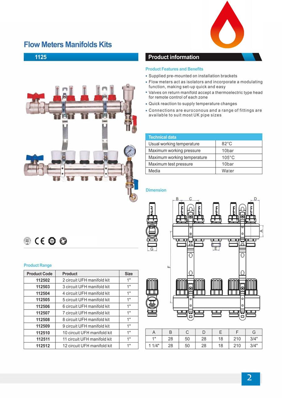 Underfloor Heating Manifold Kits