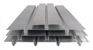 Underfloor heating alloy floor plates