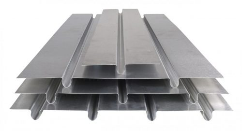 Underfloor heating alloy floor plates