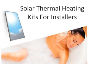 solar thermal kits